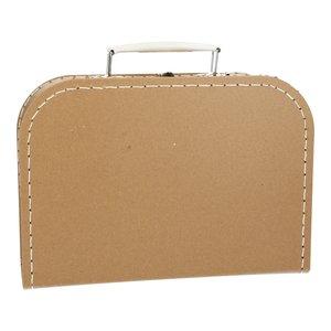 Koffertje 25 cm Kraft