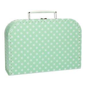 Koffertje 25 cm Ster lichtroze
