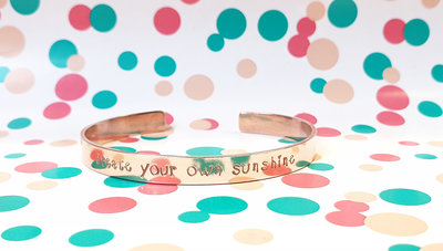 Armband - create your own sunshine