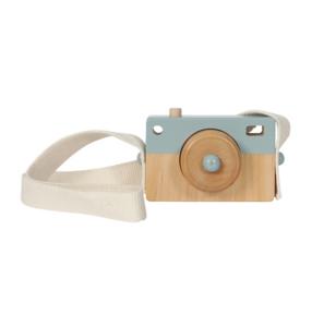Camera hout - blauw - Little Dutch